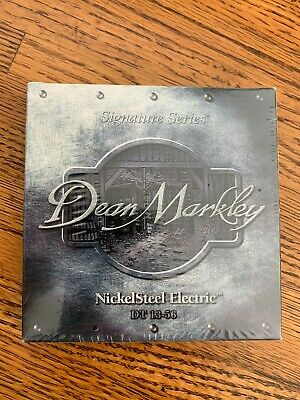 Dean Markley Nickel Steel Electric Guitar Strings (DT13-56) Free Shipping
