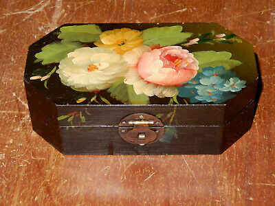Hand Painted Wooden Box 8x12x3 WINGED VICTORY
