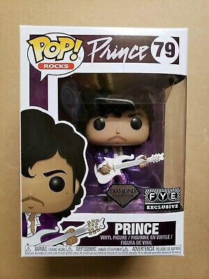 Funko Pop Prince Purple Glitter Diamond FYE exclusive