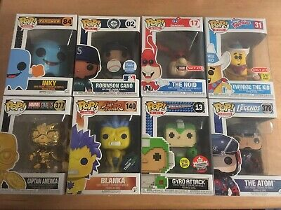 Funko Pop! Collection Lot Commons Funko Shop Exclusives Thinkgeek Target