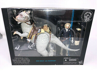 "Star Wars Hoth Han Solo & Tauntaun 6"" Black Series 2014 NEW + CASE FRESH 9/10?"