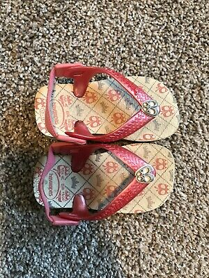 ac80a43398 HAVAIANAS GIRL TODDLER BABY SNOOPY Flip Flops PINK LILAC Thong ...