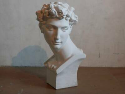 Plaster statue Medjy Busty beauty goods, second-hand, drawing