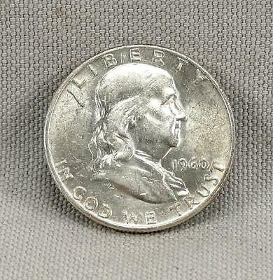 1960-D Franklin Half Dollar! No Reserve! A Nice Old Silver Coin!