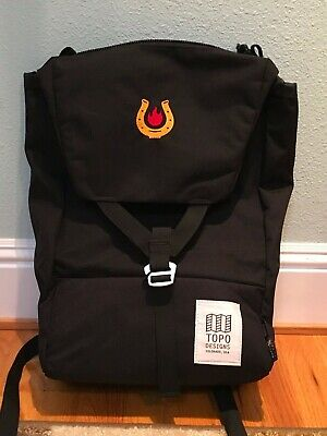 1181aa217 TOPO DESIGNS Y-PACK backpack, US-made cordura model, embroidered ...