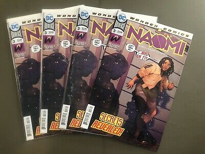 Naomi 3 1st Print Brian Bendis Low Print CGC CBCS It!