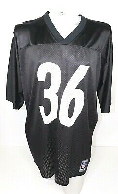 46f6ac9be STARTER PITTSBURGH STEELERS Jerome Bettis Mens Black Jersey Size 52 ...