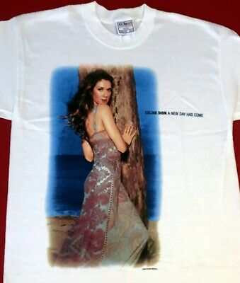 New! CELINE DION A NEW DAY HAS COME T - Shirt Adult Medium