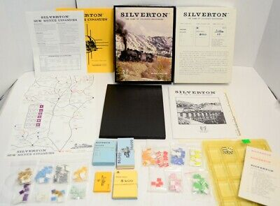 Silverton +New Mexico Expansion 100% COMPLETE Railroad Game Mining Two Wolf 1st