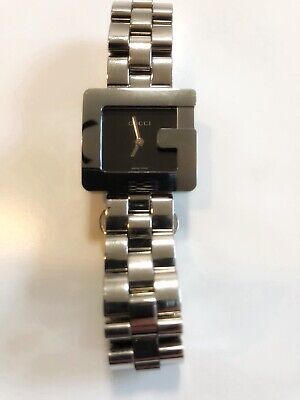 f2ecece6be0 Gucci Silver 3600L Ladies G Logo Face Quartz Women s Watch New Stainless  Steel