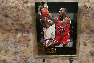 1985 Nba Rookie Of The Year Michael Jordan Card With