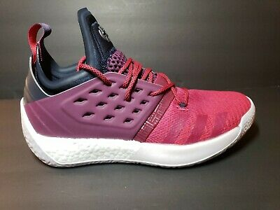 70863d9a21c2 Adidas Basketball James Harden Vol. 2 Boost Bold Red Grey AH2124 Size 10
