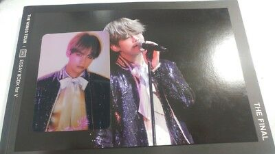 [Official] V Taehyung Essay Book- BTS The WINGS Tour Final