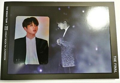 [Official] Jungkook Essay Book - BTS The WINGS Tour Final