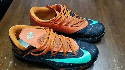 509abf23f569 NIKE KD 6 Kevin Durant Size 12 Texas Glow In The Dark Size 12 ...