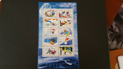 Timbres Bloc Feuillet NEUF FRANCE 2004 BF 76 Collection Jeunesse Les Sports