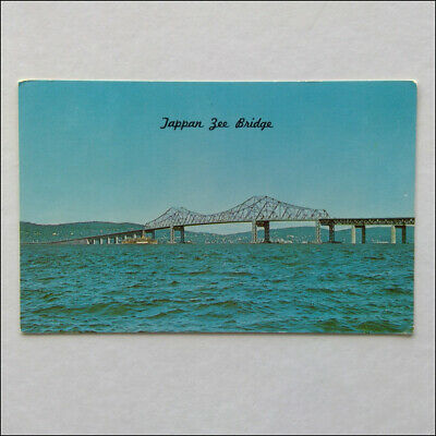 Tappan Zee Bridge New York State  Hudson River Postcard (P370)