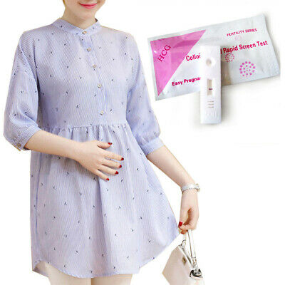 Early Pregnancy Midstream Test Kits 10mIU Urine Testing One Step