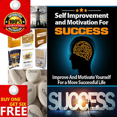 Self Improvement And Motivation For Success Ebook Six Bonus PDF/ Resell Rights