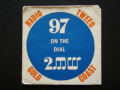 Radio Tweed Gold Coast 97 On The Dial 2Mw Coaster
