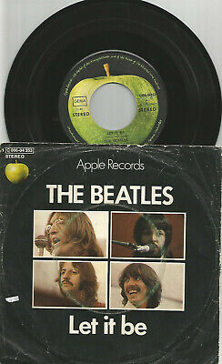 The Beatles - Let It Be / You Know My Name - Apple Label 1C006-04353