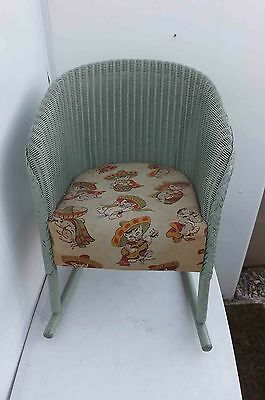 Childs musical rocking chair 1930's Loydloom in original condition rare item.