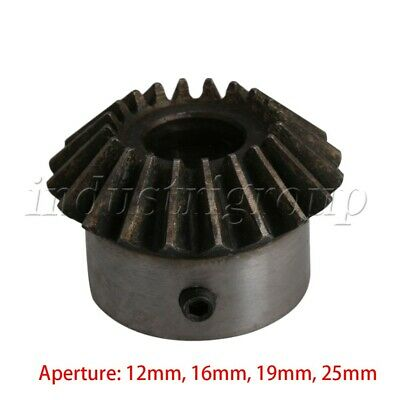 2Mod 25 Teeth Pairing Bore Industrial Motor Bevel Taper Turbine 45 Steel Gear