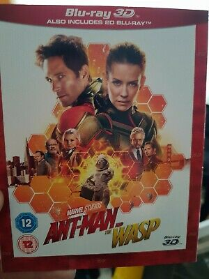 Ant-Man and the Wasp 3D Blu-ray plus Standard Blu-ray  8717418538521
