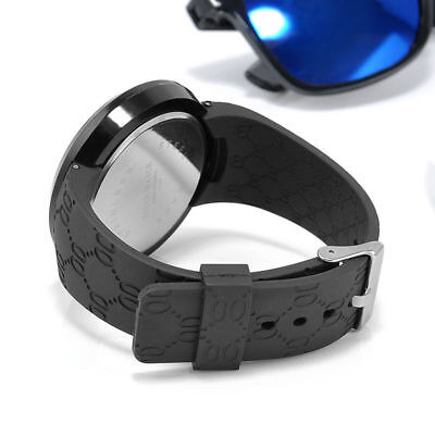 LED Digital Touch Screen Round Touch Screen LED Electronic Watch Practical #LAC