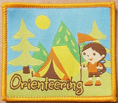 10 Fun on the range archery badge girl guide sport blanket patch badges