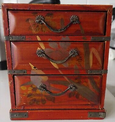 Dolls house furniture/ Antique chest of Drawers