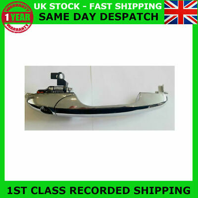 Fit Fiat 500 Lounge Abarth Offside Right Chrome Door Handle 735592012 Rhd-Uk