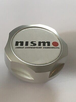 Nismo Oil Cap Silver Engine Oil Car