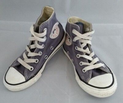 Converse All Star Hi-Top Baseball Boot Trainer Blue Size Infant Kids 10 Eur 27