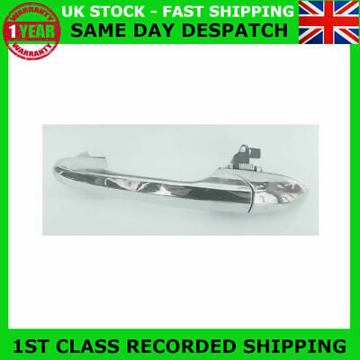 Fit Fiat 500 Lounge Abarth Near Side Left Chrome Outer Door Handle 735485876 Rhd
