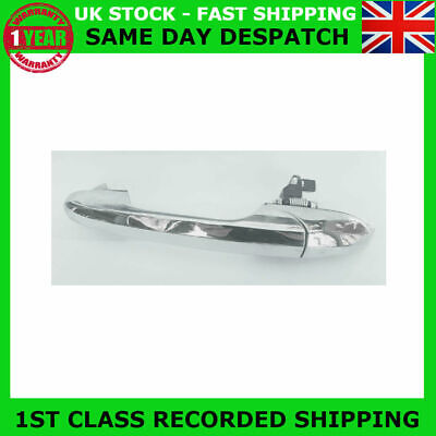 Fit Fiat 500 Lounge Abarth Near Side Left Chrome Door Handle 735485876 Rhd-Uk