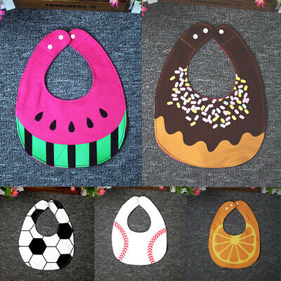 1Pcs Kids Baby Bibs Boy Girl Saliva Towel Dribble Triangle Bandana Apro