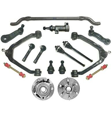 16 Pc Suspension Kit for Chevrolet Cadillac GMC Control Arms Sway Bar Ball Joint