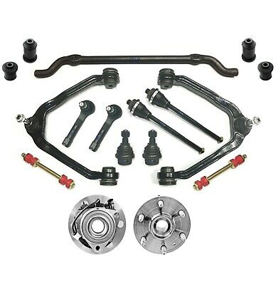 16 Pc Suspension Kit for Chevrolet Cadillac GMC Control Arms Sway Bar Tie Rods