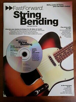 FastForward String Bending With Rikky Rooksby Songbook Tabs 2000 CD / Paperback