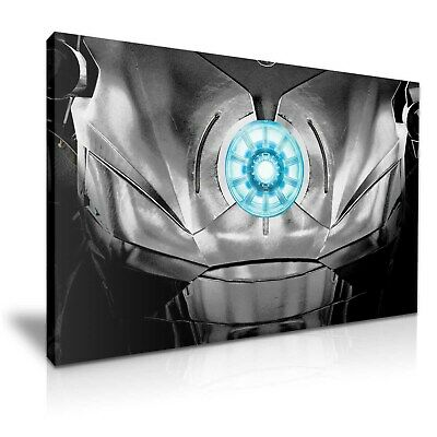 Avengers Iron Man Heart Stretched Canvas ~ More Size