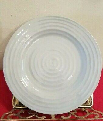 """Portmeirion Sophie Conran Grey Dinner Plate 11"""" - Mint Condition"""