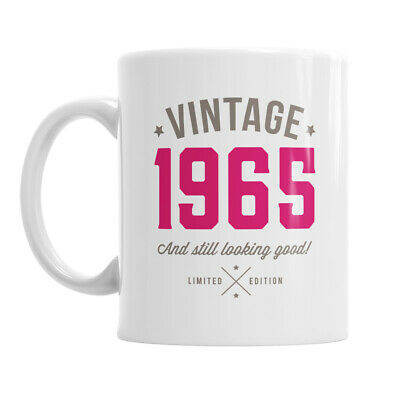 55th Birthday Gift 1964 Present Idea For Men Women Ladies Dad Party Happy 55 Mug