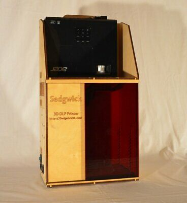 Sedgwick 3DP SKV2 DLP 3D Printer Kit, Brand New Unused, Don't Miss!
