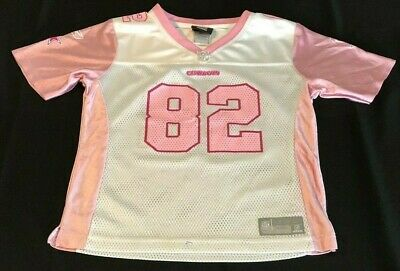f750579bb9a Dallas Cowboys JASON WITTEN #82 White & Pink NFL JERSEY Youth Girls L Large