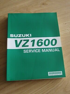 Original service manual VZ1600 K4  printed 2003