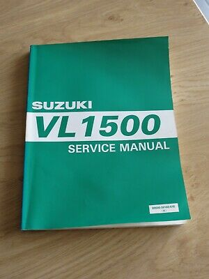 Original service manual Suzuki  VL1500 W 98 - model