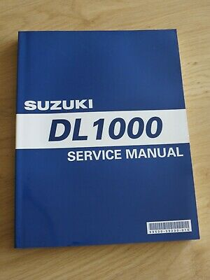 Original service manual Suzuki  DL1000 K2  '02 model