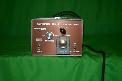 Olympus CLK-3 Cold Light Supply Olympus AC10-L - A+ Condition