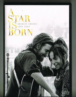 A Star Is Born (Dvd, 2018) Lady Gaga Bradley Cooper Watched Once! 2 Discs